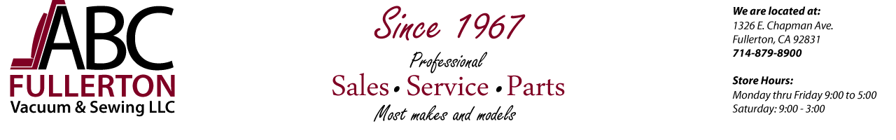 ABC Fullerton Vacuum & Sewing, LLC